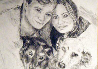 Family-portrait--charcoal