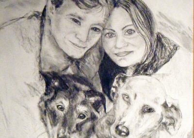 Family-portrait--charcoal