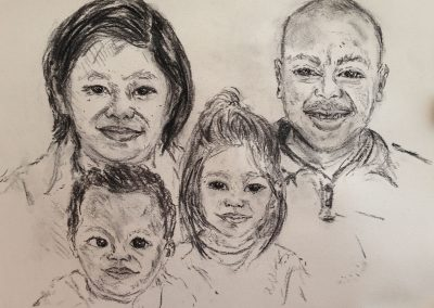 Family-charcoal-14-x-17