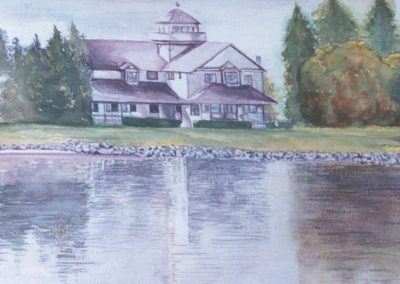 Harbor-House,-Cold-Lake,AB-12-x-24-watercolor-