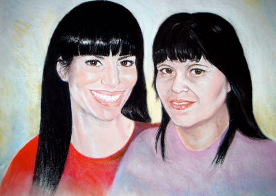 Mother-and-daughter-22-x-30-pastel