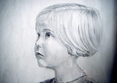 Mum-as-a-young-girl-11-x-14-pencil